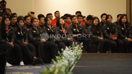 Skuat tim Thomas dan Uber Cup Indonesia.