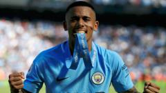 Indosport - Gabriel Jesus, Man City.