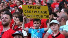 Indosport - Fans Cilik Arsenal
