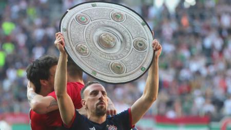 Franck Ribery, turut menyumbangkan gelar Bundesliga Jerman 2017/18. - INDOSPORT