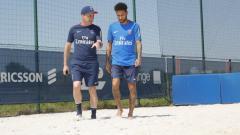 Indosport - Neymar kembali berlatih di PSG