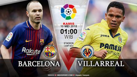 Barcelona vs Villarreal - INDOSPORT