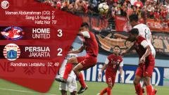 Indosport - Hasil pertandingan Home United vs Persija Jakarta.
