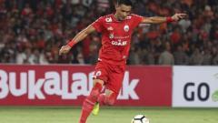 Indosport - Maman Abdurrahman, palang pintu Persija Jakarta.