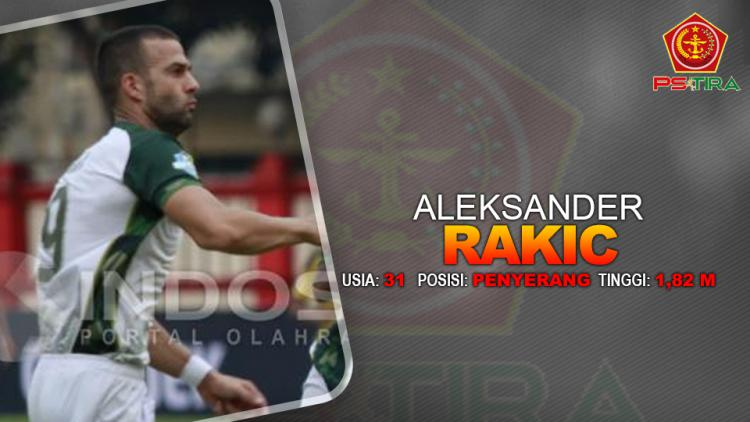 PS TIRA vs PSMS Medan (Aleksandar Rakic) Copyright: INDOSPORT
