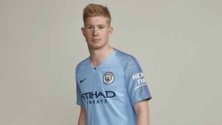 Jersey anyar Manchester City. - INDOSPORT