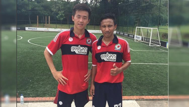 Irvin Museng (kiri) Copyright: instagram@irvinmuseng
