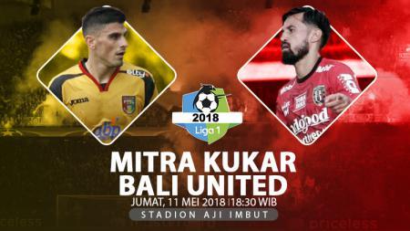 Mitra Kukar vs Bali United. - INDOSPORT