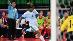 Indosport - Tim futsal Indonesia ditekuk Vietnam.