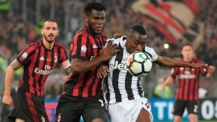 Juventus vs AC Milan. Copyright: INDOSPORT
