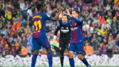 Indosport - Barcelona vs Villareal.