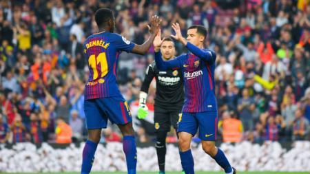 Barcelona vs Villareal. - INDOSPORT