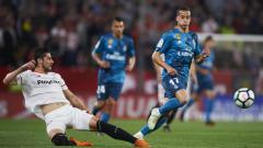 Indosport - Sevilla vs Real Madrid.