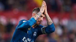 Sergio Ramos meminta maaf ke pendukung Sevilla.