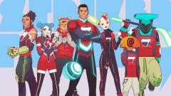 Indosport - Cristiano Ronaldo akan terlibat proyek animasi Striker Force 7.