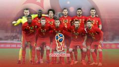 Indosport - Timnas Sepakbola Belgia PD 2018