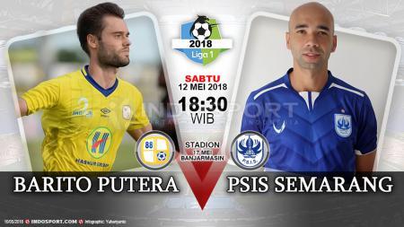 Barito Putera vs PSIS Semarang. - INDOSPORT