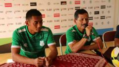 Indosport - Konferensi pers jelang laga PS TIRA vs PSMS Medan.