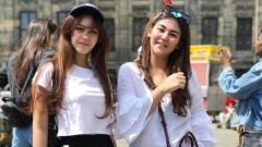 Indosport - Sissy Priscillia dan Vanesha Prescilla