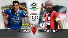 Indosport - Prediksi Persib Bandung vs Persipura Jayapura