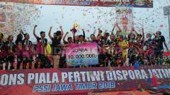 Indosport - Candra Kirana Juara Pertiwi Cup 2018 Regional Jatim