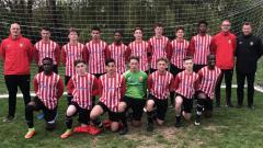 Indosport - Jack Brown kala bermain untuk Hornchurch FC U-16.