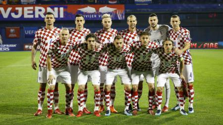 Foto Skuat Timnas Kroasia - INDOSPORT