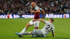 Indosport - West Ham vs Man United.