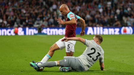 West Ham vs Man United. - INDOSPORT