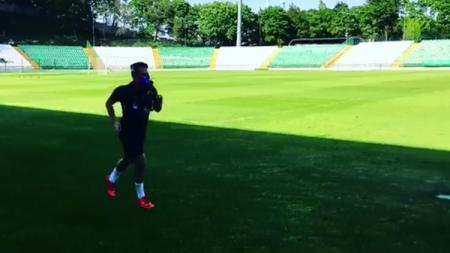 Egy Maulana Vikri mulai bergabung latihan di Lechia Gdansk. - INDOSPORT