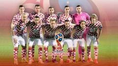 Indosport - Timnas Football Kroasia PD 2018