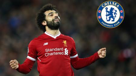 Melempem di Chelsea, Lampard nilai Mohamed Salah memang ditakdirkan di Liverpool. - INDOSPORT