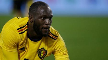 Romelu Lukaku, pemain Timnas Belgia. - INDOSPORT
