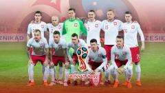 Indosport - Timnas Football Polandia PD 2018