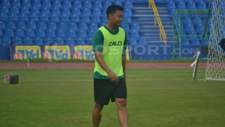 Hamka Hamzah, kapten tim Sriwijaya FC. - INDOSPORT