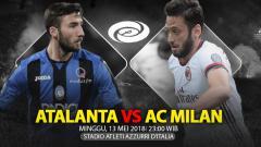 Indosport - Prediksi Atalanta vs AC Milan.