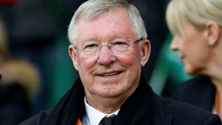 Sir Alex Ferguson. Copyright: Daily Mail