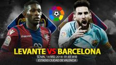 Indosport - Prediksi Levante vs Barcelona.