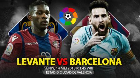 Prediksi Levante vs Barcelona. - INDOSPORT