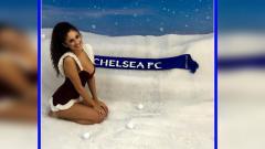 Indosport - Sophie Rose, reporter Chelsea Fan TV.