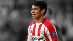 Indosport - Pemain PSV Eindhoven Hirving Lozano.