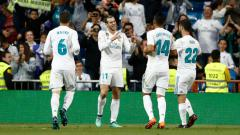 Indosport - Real Madrid vs Celta Vigo.
