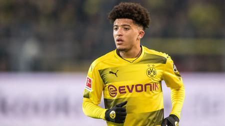 Jadon Sancho, pemain muda Borussia Dortmund. - INDOSPORT