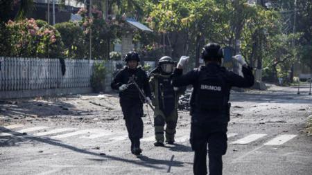 Bom Surabaya. - INDOSPORT