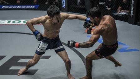 Ilustrasi pertarungan Mix Martial Arts (MMA). - INDOSPORT