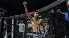 Indosport - Petarung Indonesia, Stefer Rahardian, saat menjalani pertarungan beberapa waktu lalu.