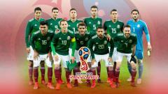 Indosport - Timnas Meksiko untuk Piala Dunia 2018.