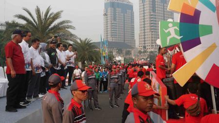 Parade Jelang Asian Games 2018 - INDOSPORT