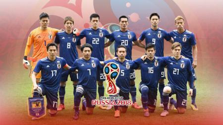 Timnas Football Jepang PD 2018 - INDOSPORT