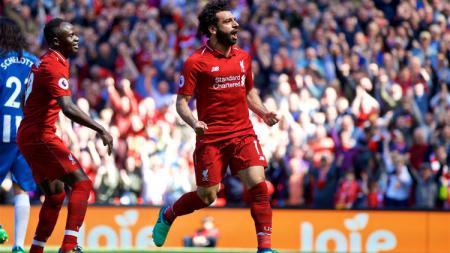 Mohamed Salah. - INDOSPORT